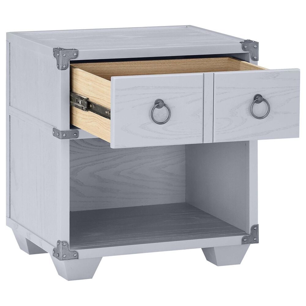 Gunnison Co. Orchest Nightstand with USB Dock in Gray, , large