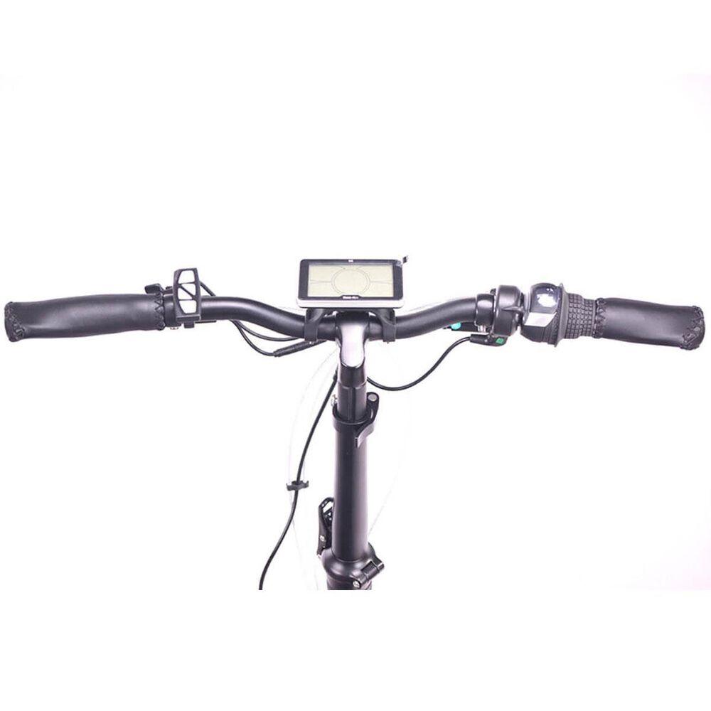 Magnum Premium II Low Step E-bike with Smart Bluetooth Bicycle Helmet in Black, , large