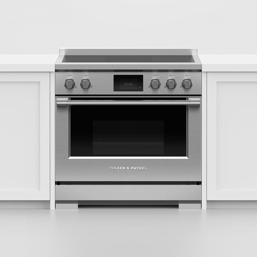 """Fisher and Paykel 36"""" Professional Induction Range in Stainless Steel, , large"""