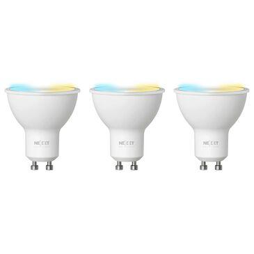 Nexxt MR16/GU10 3-Pack Smart Tunable Wifi Bulb in White, , large