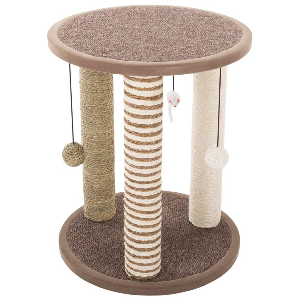 Timberlake Petmaker Cat Scratching Post with Perch, , large