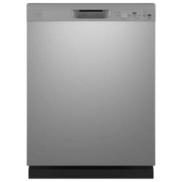 """GE Appliances 24"""" Built-In Integrated Handle Dishwasher with Front Control and 52 dBA in Stainless Steel, , large"""