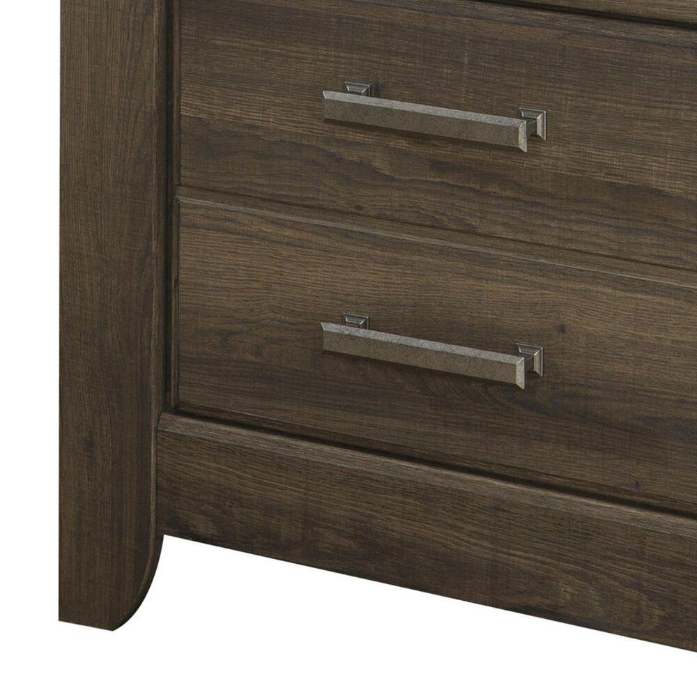 Signature Design by Ashley Juararo 4 Piece Queen Bedroom Set in Dark Brown, , large