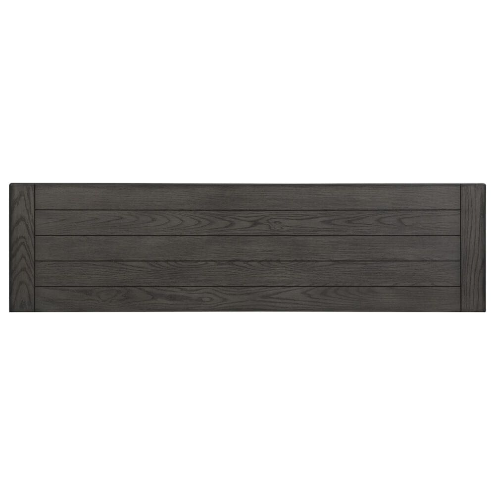 """Belle Furnishings Allyson Park 66"""" TV Console in Wirebrushed White and Weathered Gray, , large"""