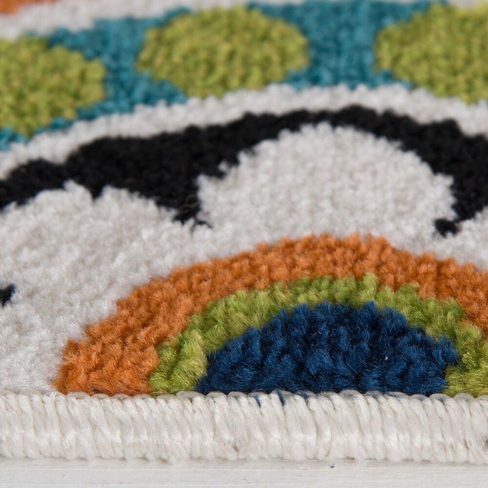 "Central Oriental Terrace Tropic Burnette 2300NI.084 8'8"" x 11'10"" Multicolor Area Rug, , large"