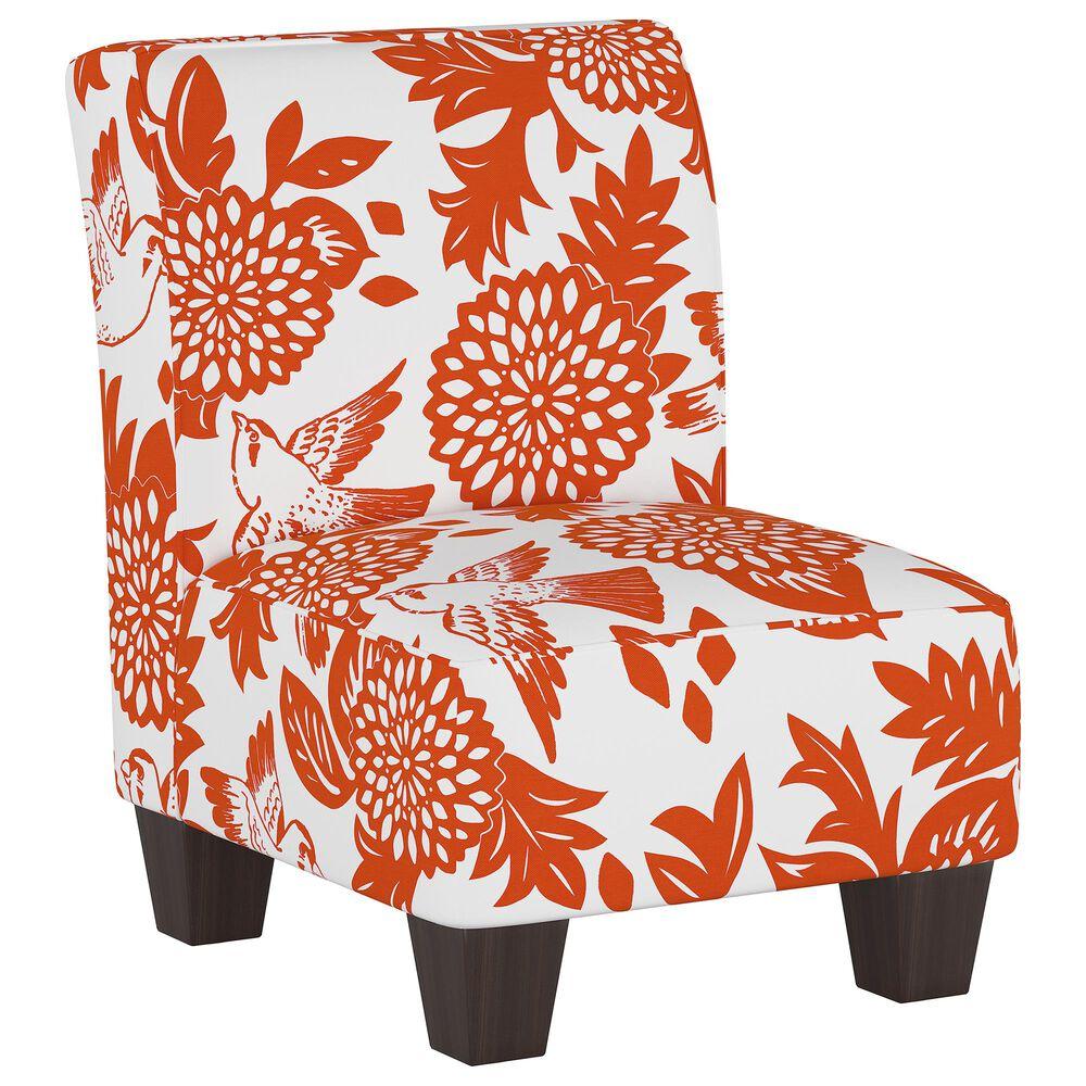 Skyline Furniture Kids Chair in Garden Bird Orange, , large