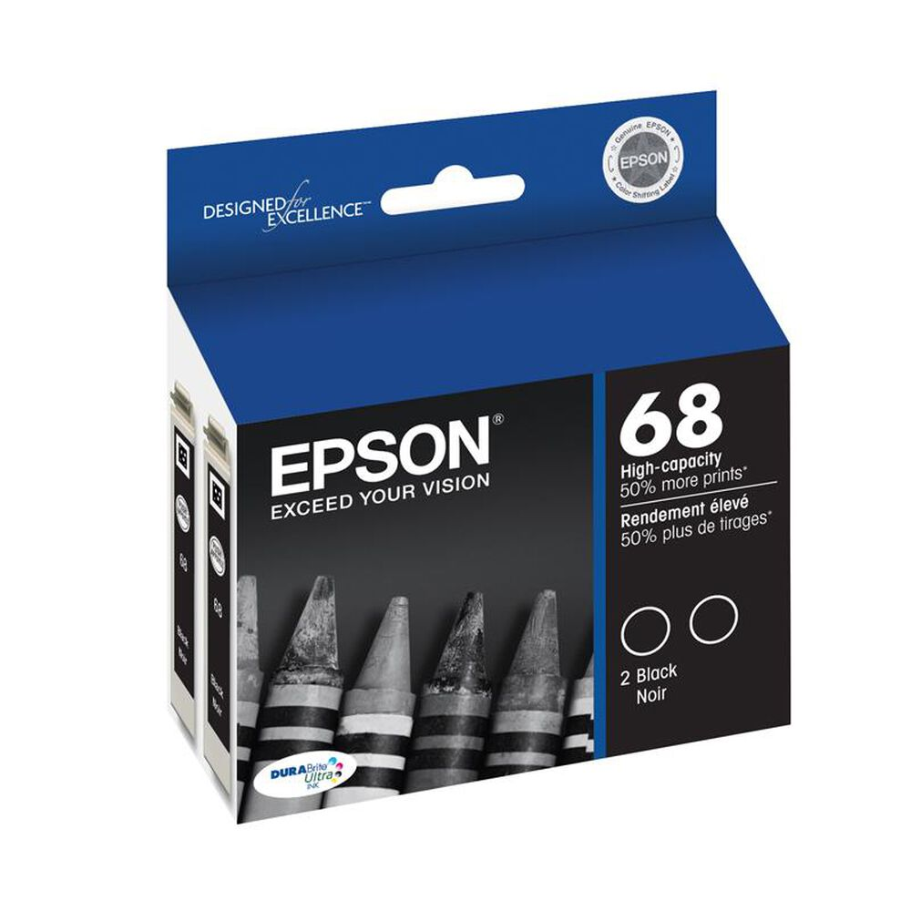 Epson 68 High-Capacity Ink Cartridge in Black, , large