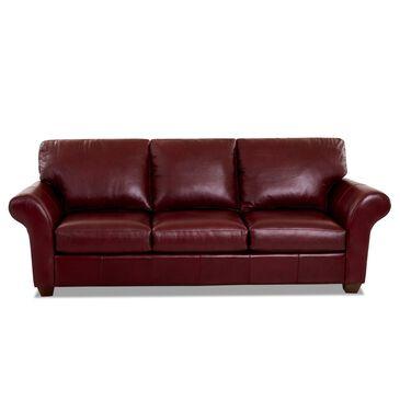 Klaussner Moorland Sofa in Sydney Sienna, , large