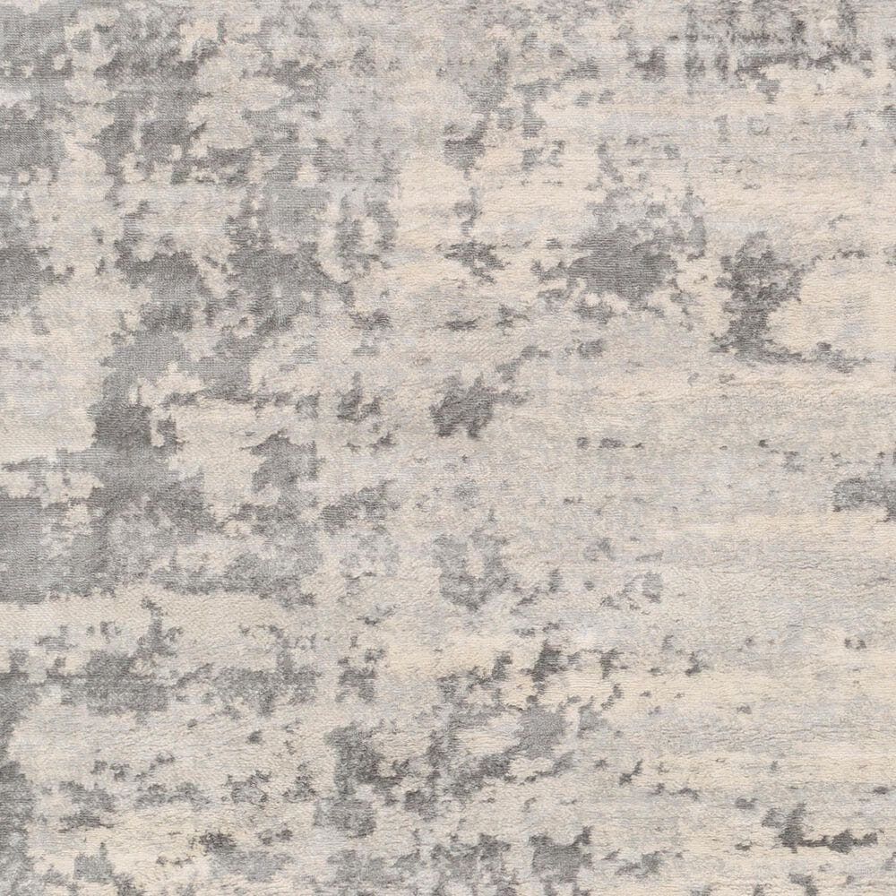 "Surya Monaco MOC-2311 7'9"" x 10'3"" Silver Gray and Cream Area Rug, , large"