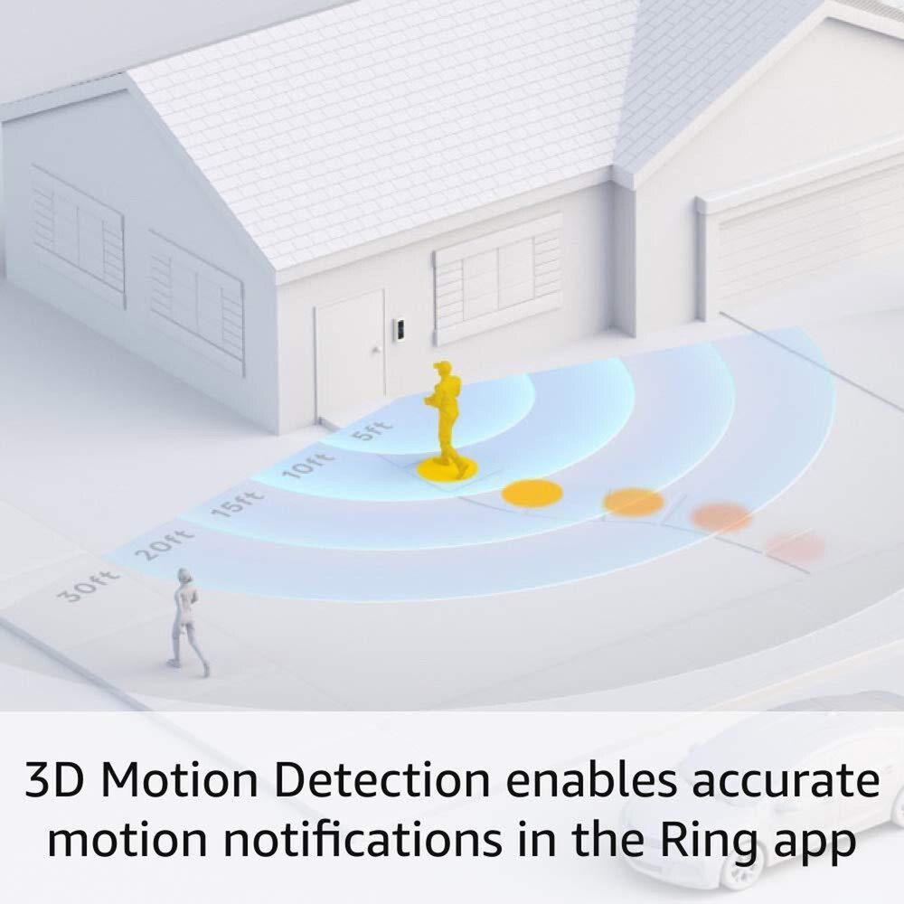 Ring Video Doorbell Pro 2 in Satin Nickel, , large