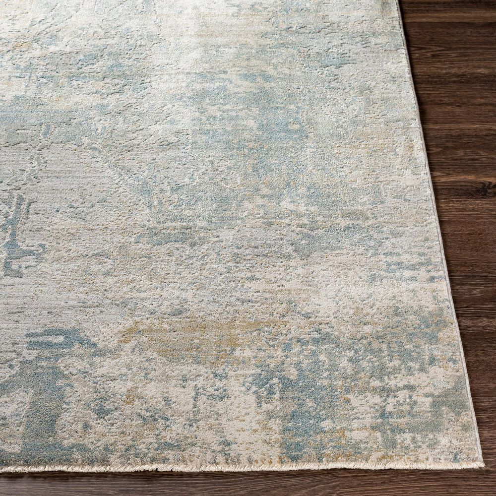 "Surya Brunswick 5' x 7'5"" Sage, Gray, White and Blue Area Rug, , large"
