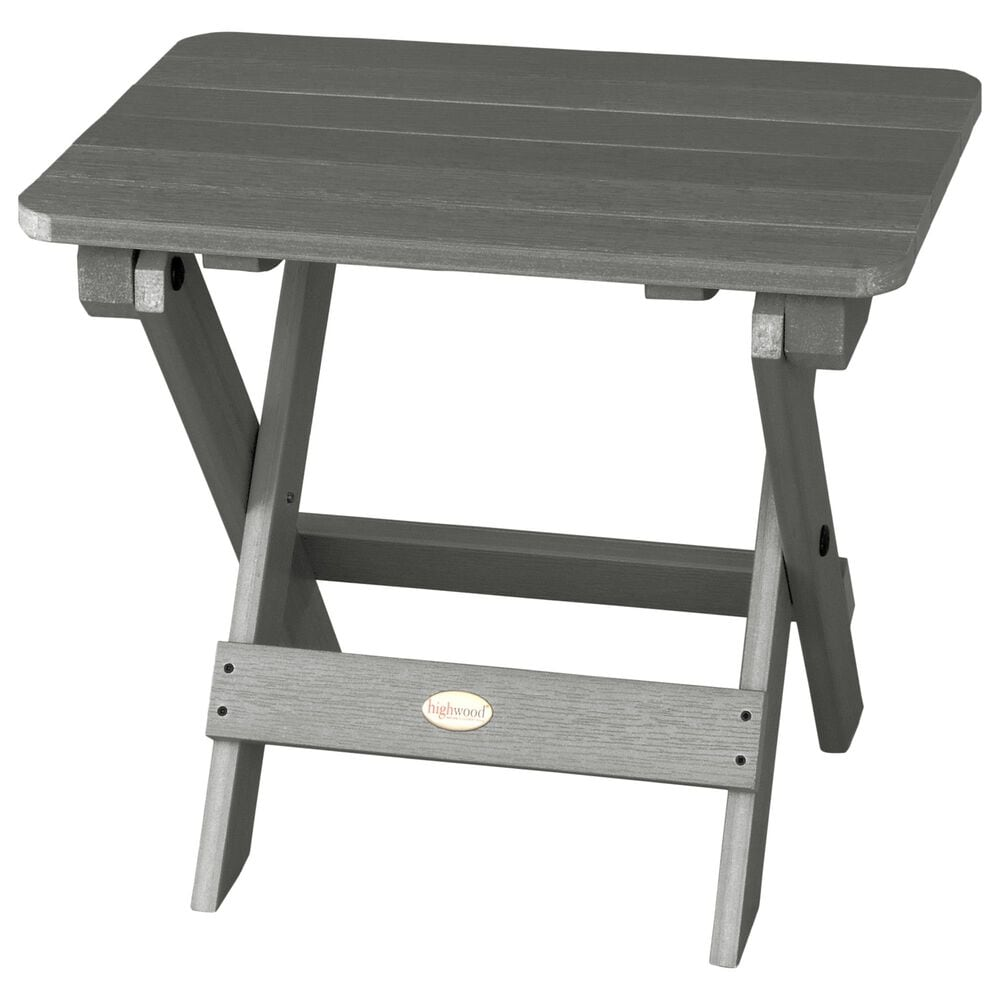 Highwood USA Adirondack Side Table in Coastal Teak, , large
