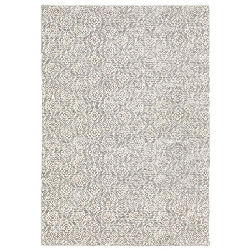 "Oriental Weavers Capistrano Geometric 9894F 2""3"" x 7""3"" Gray Runner, , large"