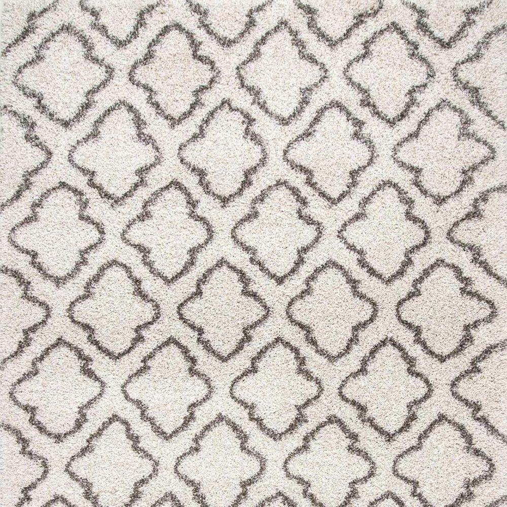 nuLOOM Sahara MLSH08A 4' x 6' Ivory Area Rug, , large