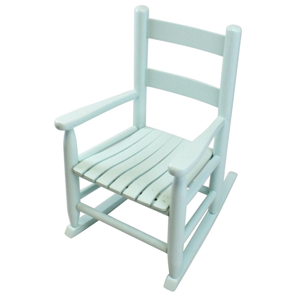 Lakeside Asheville Childs Rocking Chair in Coastal Blue, , large