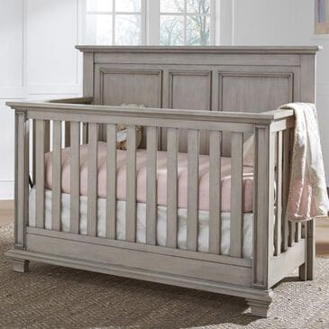 Oxford Baby Kenilworth 4 In 1 Convertible Crib in Stone Wash, , large