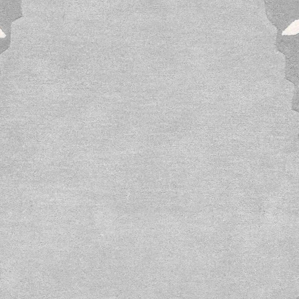 nuLOOM Irisa MTIR01A 4' x 6' Oval Grey Kids Rug, , large