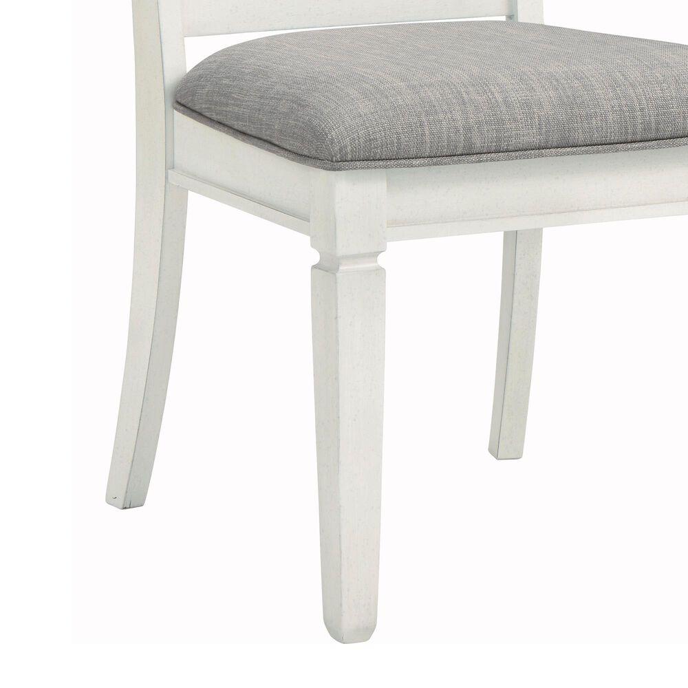 Signature Design by Ashley Nashbryn Dining Splat Side Chair in Whitewash, , large
