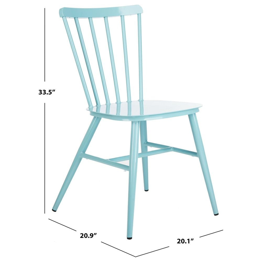 Safavieh Chester Stackable Side Chair in Blue, , large