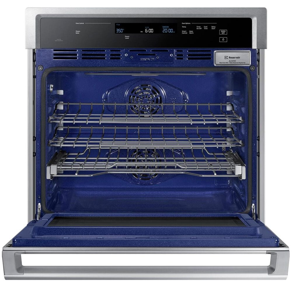 """Samsung 30"""" Electric Wall Oven with Steam Cooking in Stainless Steel, , large"""