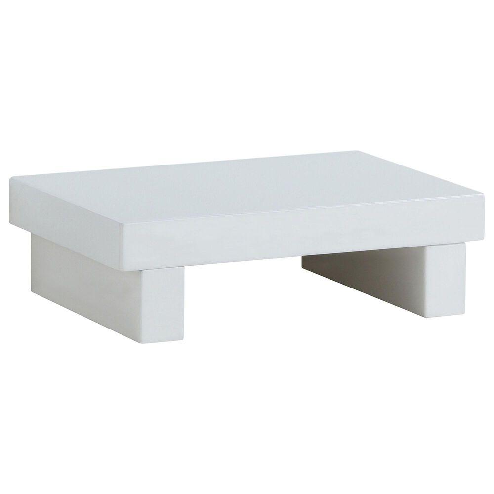 Furniture of America Burton Nightstand in White, , large