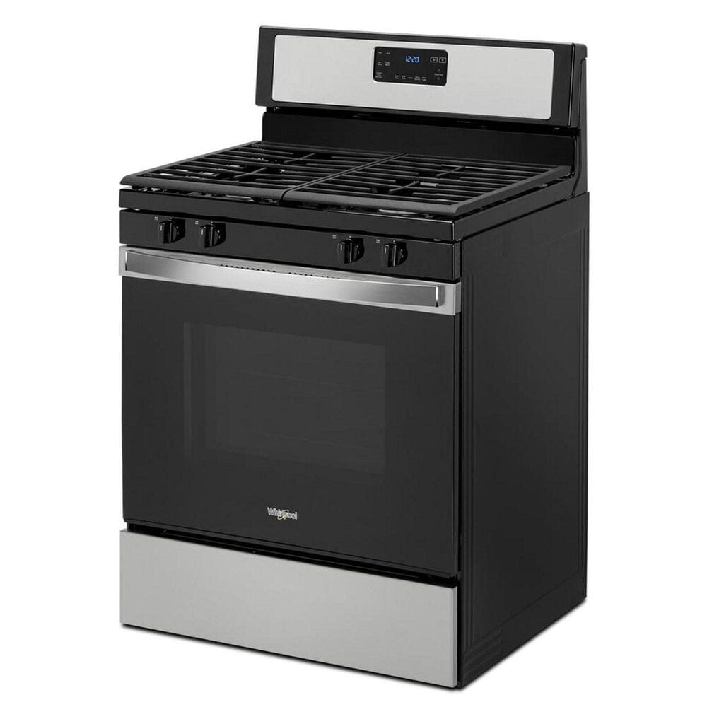 Whirlpool 5.0 Cu. Ft. Gas Range with SpeedHeat Burner in Stainless Steel, Stainless Steel, large