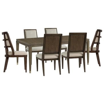 Shannon Hills Monterey 7-Piece Dining Room Set in Mink, , large