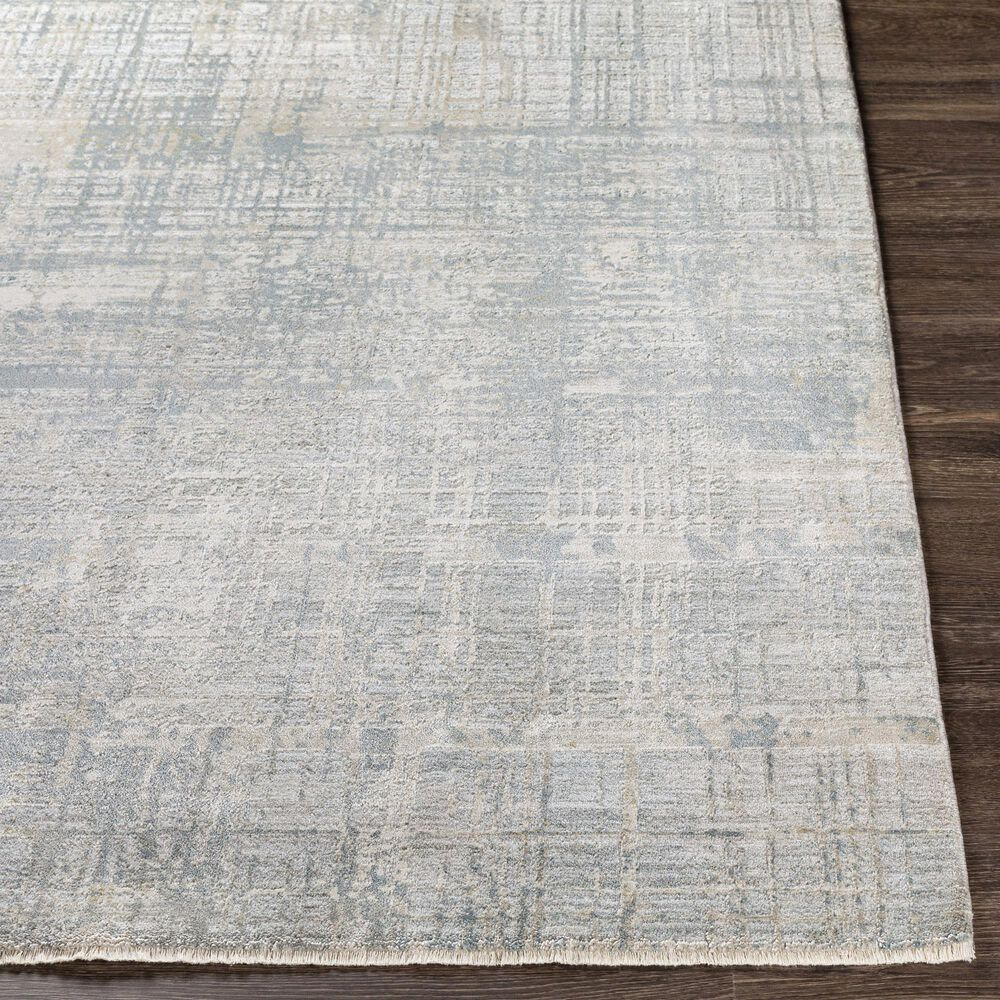 Surya Brunswick 12' x 15' Sage, Gray, White and Blue Area Rug, , large