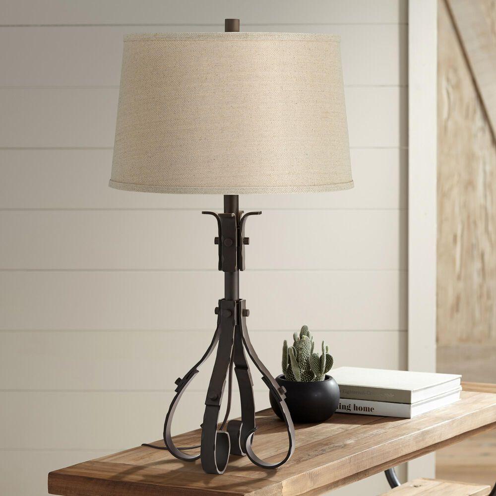 Pacific Coast Lighting Bristol Table Lamp in Dark Bronze, , large