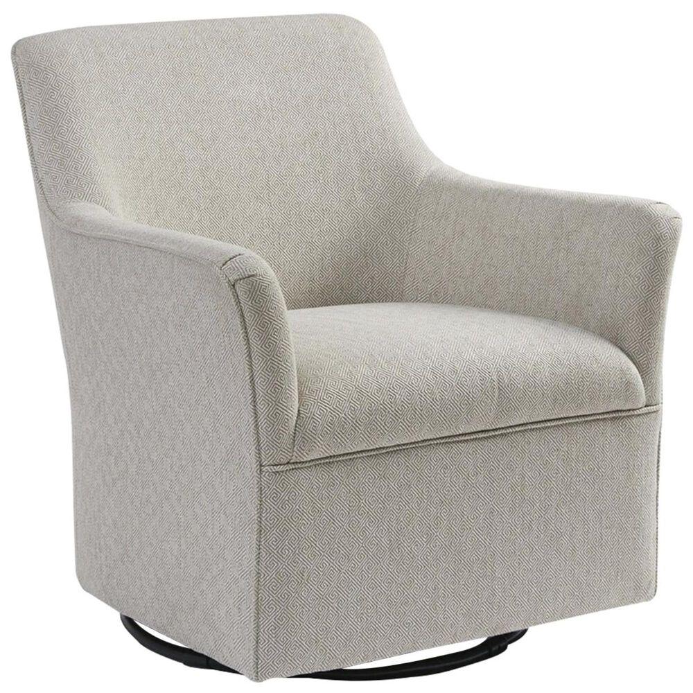 Hampton Park Augustine Swivel Glider Chair in Cream, , large