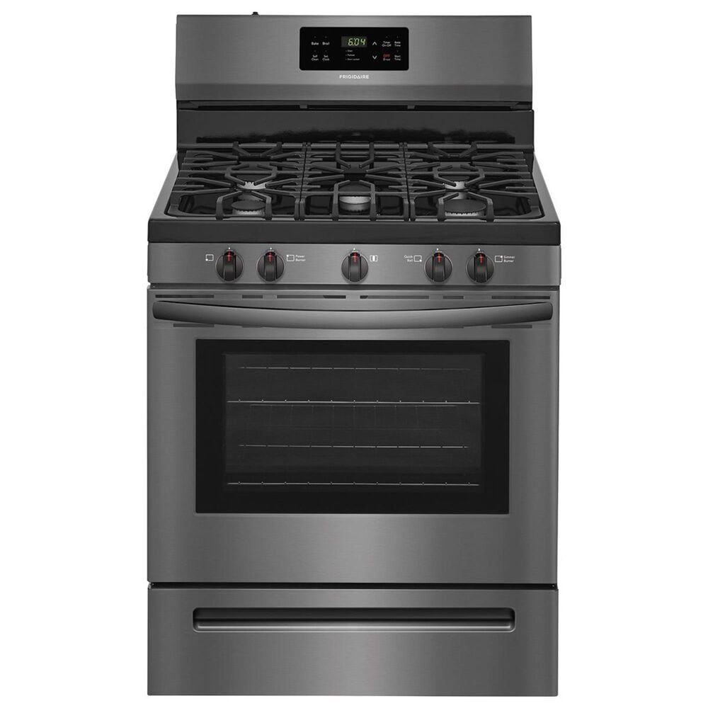 """Frigidaire 30""""""""  Free-Standing Gas Range in Black Stainless, , large"""