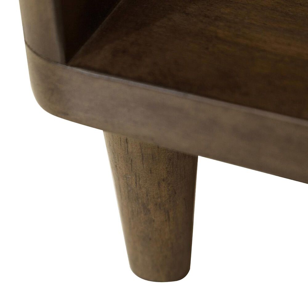 Accentric Approach Urban Eclectic Benton Accent Bedside Table in Brown, , large