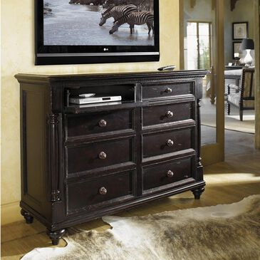 Tommy Bahama Home Kingstown 8 Drawer Stony Point Dresser in Tamarind, , large