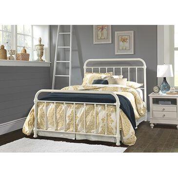 Richlands Furniture Krikland King Slat Bed Set in Soft White, , large