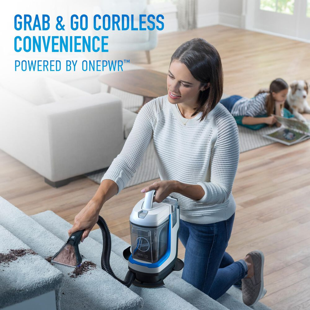 Hoover ONEPWR Spotless GO Cordless Portable Carpet Cleaner with Kit , , large