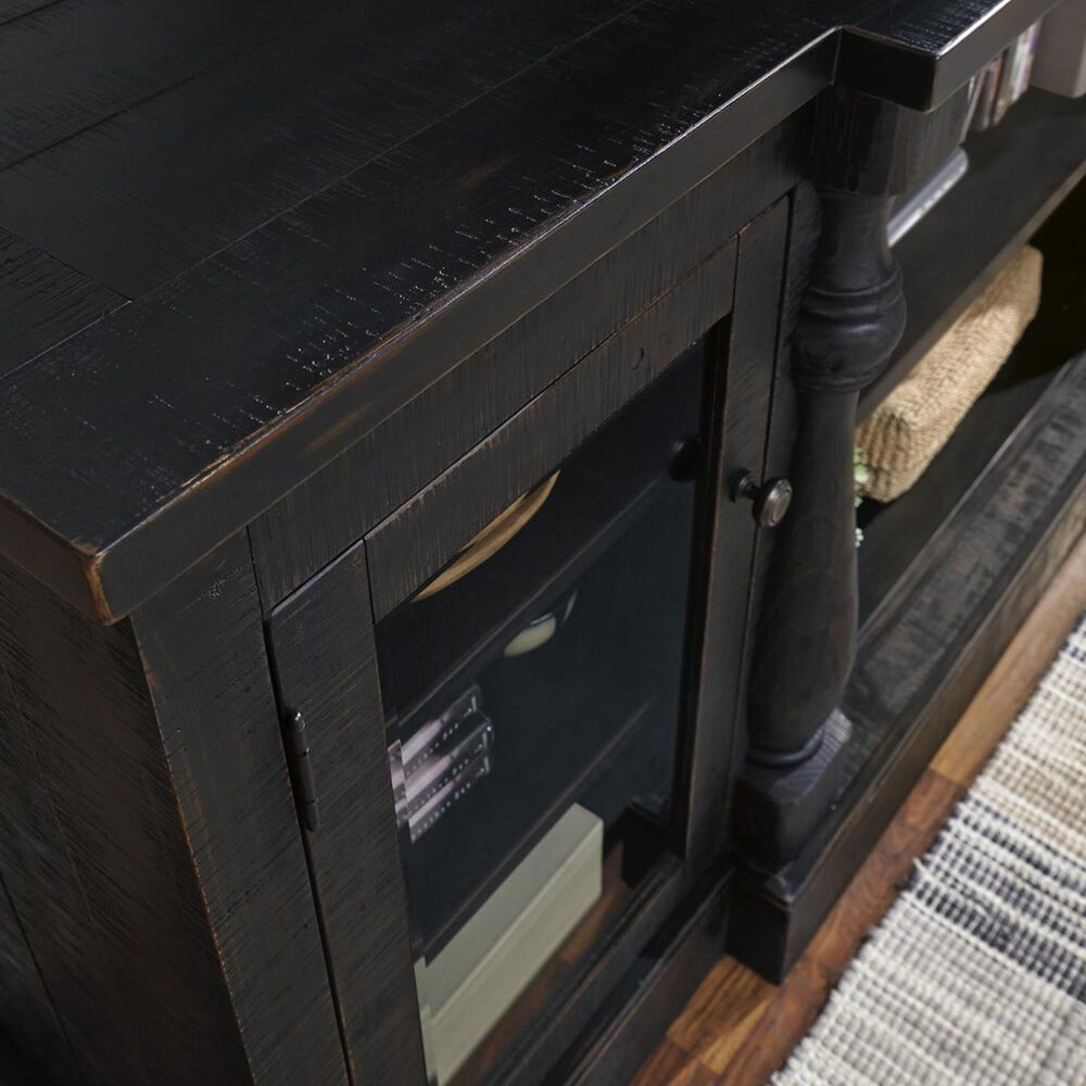 """Signature Design by Ashley Mallacar 75"""" TV Stand in Black, , large"""