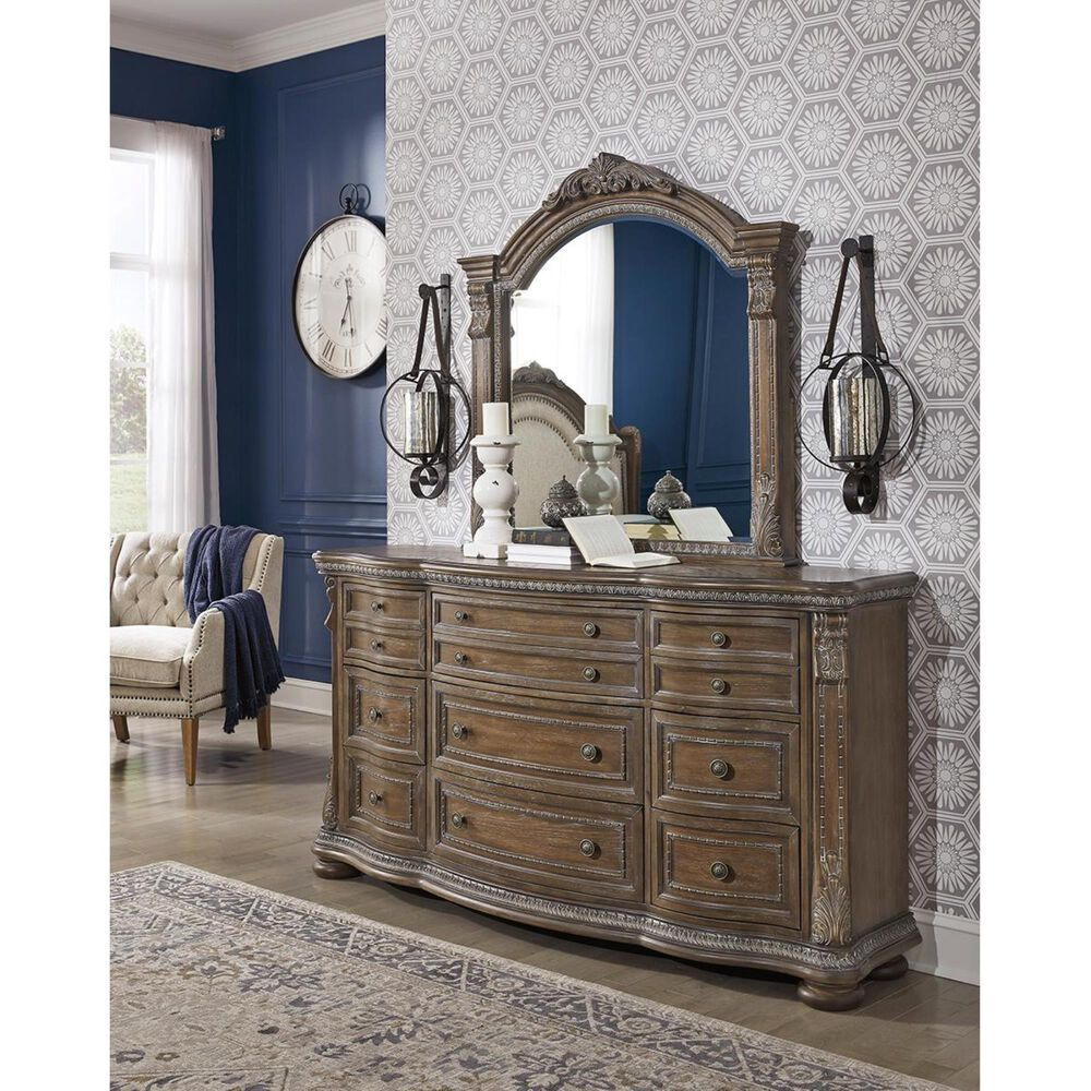 Signature Design by Ashley Charmond Dresser in Brown, , large