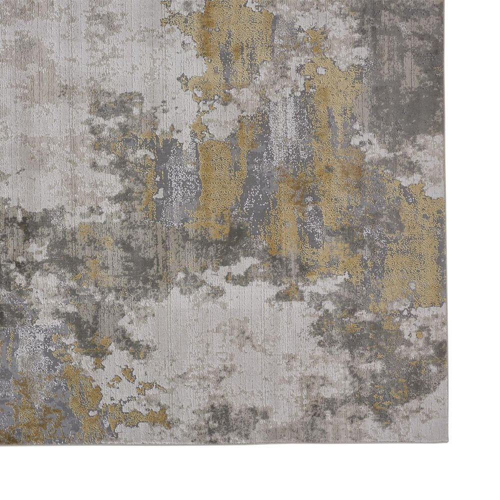 Feizy Rugs Waldor 3970F 8' x 11' Gold and Birch Area Rug, , large