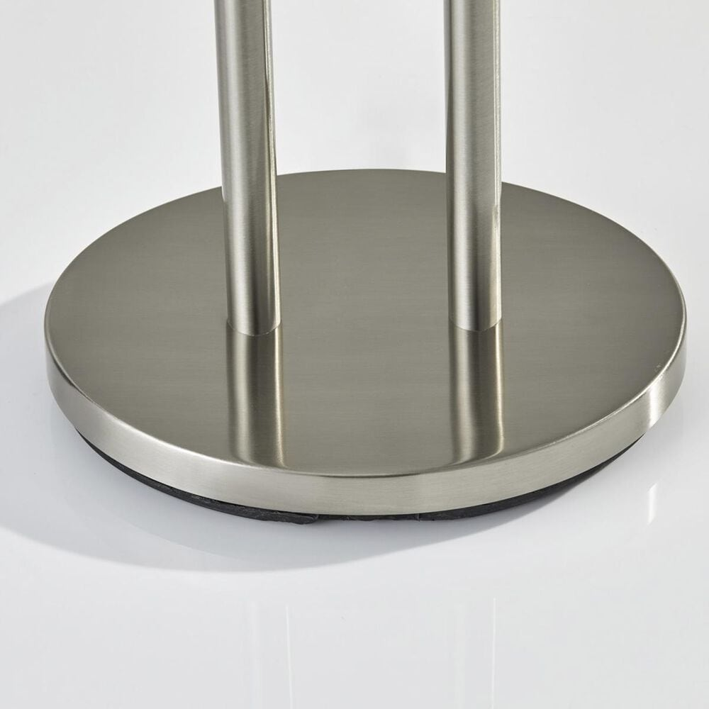 Adesso Duet Table Lamp in Brushed Steel, , large