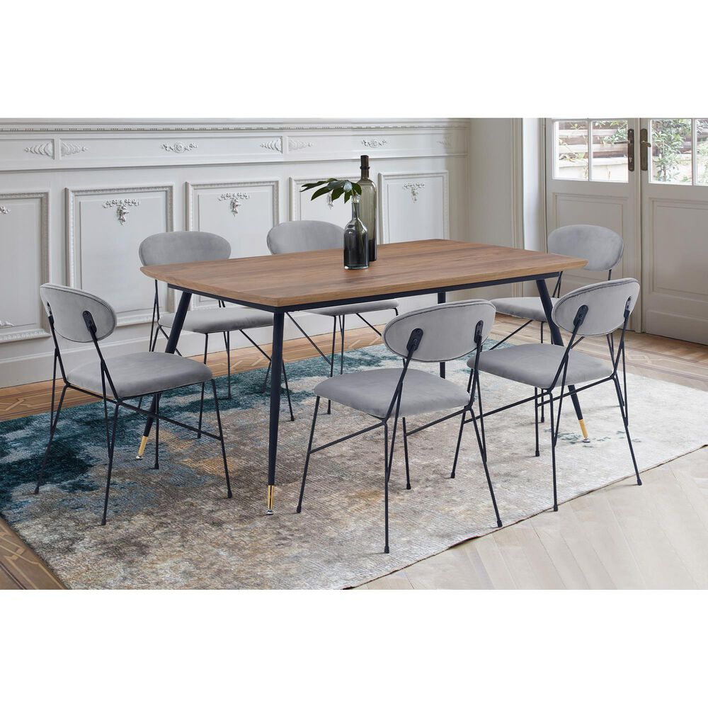 Blue River Alice Dining Chair in Grey (Set of 2), , large