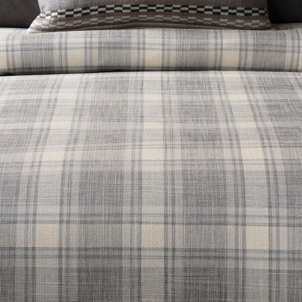 Eastern Accents Telluride King Comforter in Shale, , large