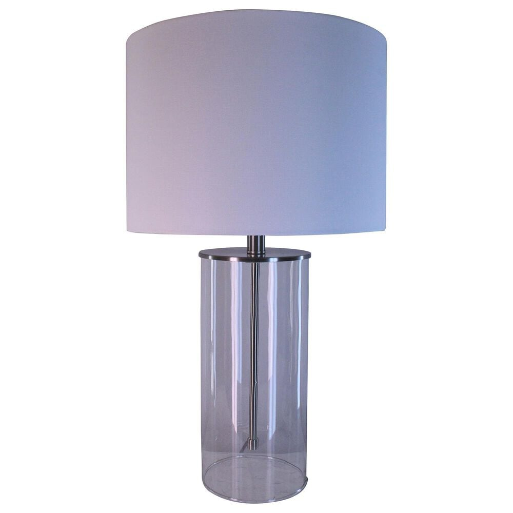 """TLC 26"""" L23809 Table Lamp in Clear, , large"""