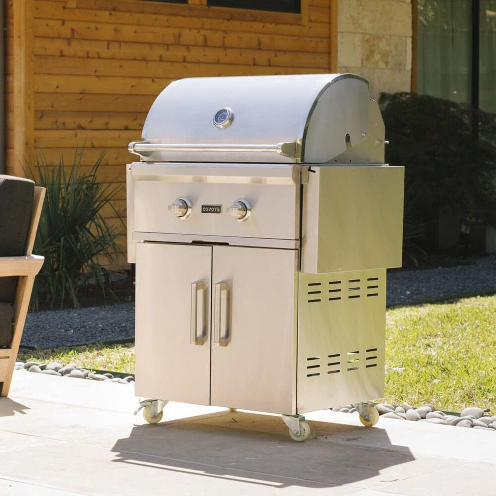 """Coyote Outdoor 28"""" Natural Gas Grill in Stainless Steel, , large"""