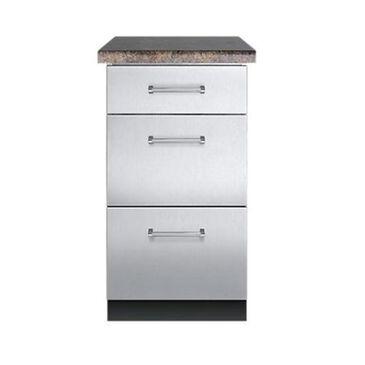 """Viking Range 18"""" W x 30"""" W Base Cabinet 3 drawer, , large"""