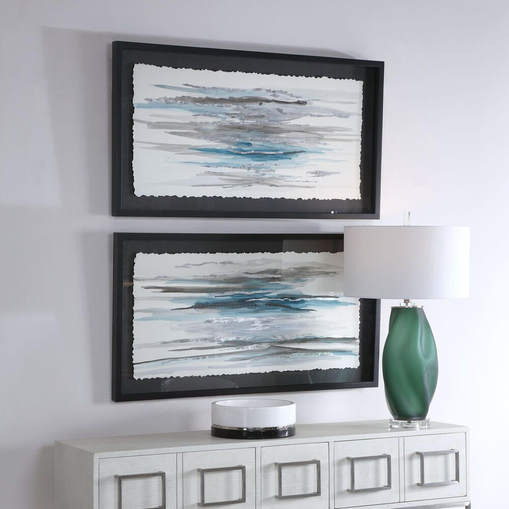 Uttermost Washed Away Contemporary Prints (Set of 2), , large