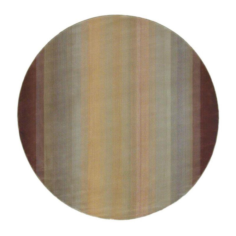 "Oriental Weavers Generations 594X1 8"" Round Brown Area Rug, , large"