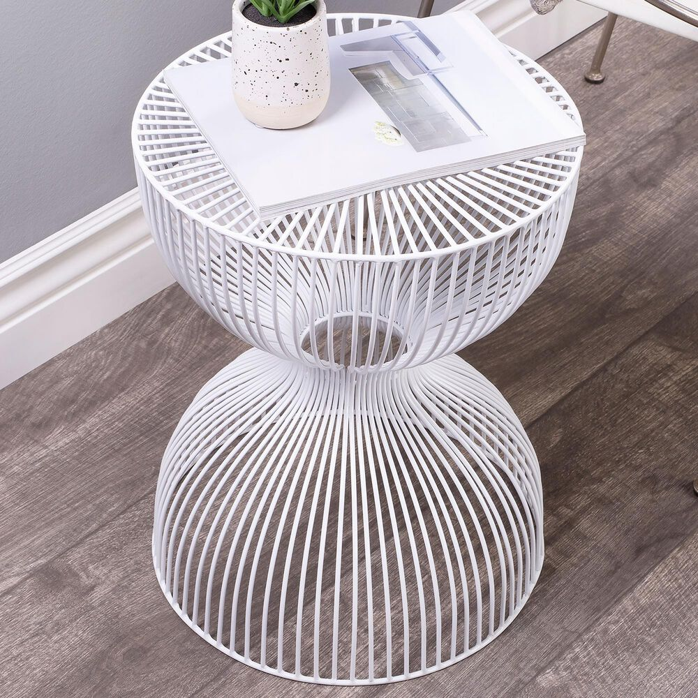 Butler Nicholas End Table in White, , large