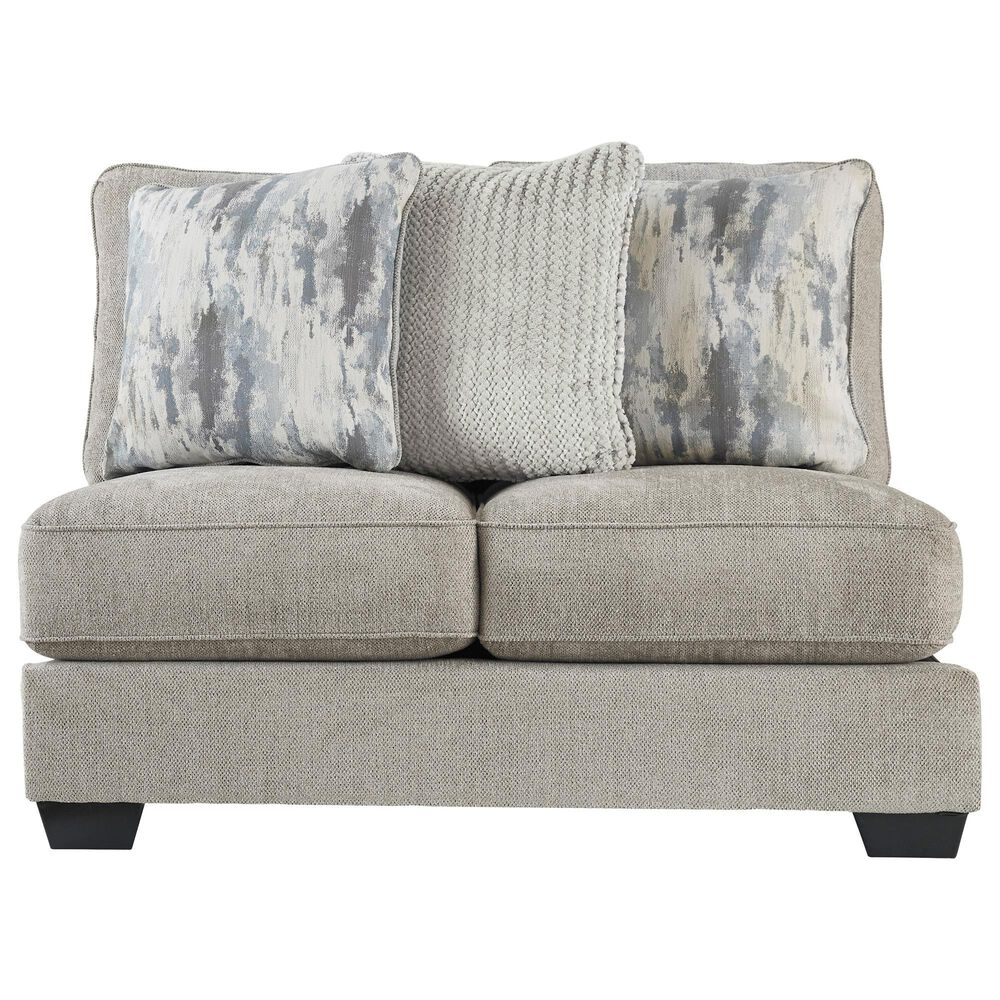 Signature Design by Ashley Ardsley 4-Piece Sectional with Chaise in Pewter, , large