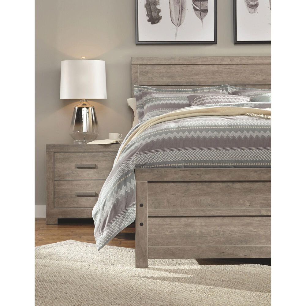 Signature Design by Ashley Culverbach King Panel Headboard in Driftwood, , large