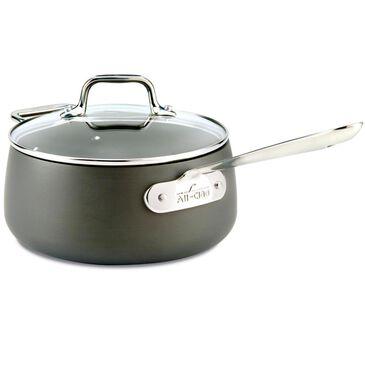 All-Clad Hard Anodized 3.5 Quart Sauce Pan, , large